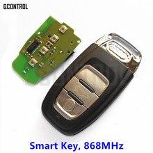 Q Управление Smart Key Автомобильная дистанционного Подходит для Audi 2007-2016 A4/S4/A5/S5/ q5 868 мГц замок Управление сигнализации