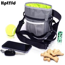 2 Design Pet Dog Feed Pocket Bag Outdoor Training Snack Food Carrier Portable Thick Nylon Bags With Two Waist And Shoulder Belt