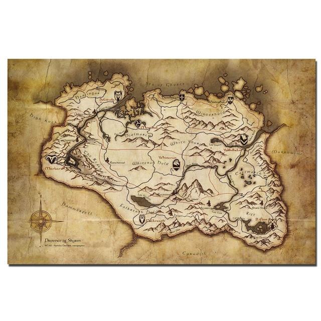 skyrim map elder scrolls » 4K Pictures   4K Pictures [Full HQ Wallpaper]