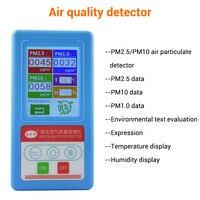 BR-8A мониторинга качества воздуха тестер PM2.5 детектор частиц пыли счетчик цифровой Air газоанализатор Температура измеритель влажности