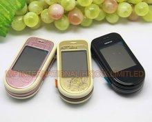 Originale PER NOKIA 7373 Delle Cellule Del Telefono Mobile 2G GSM Tri Band Sbloccato MP3 della Macchina Fotografica di Bluetooth 7373 Tastiera Russa
