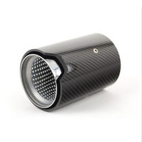 Car Rear Tail Modified High Quality Carbon Fiber Car Exhaust Tip For BMW F30 F34 F20 E81 M2 M3 M4 Accessories Inlet 66/70/73mm