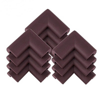 12pcs baby safety thickened nbr foam corner edge cushions desk table protector cover guard brown .jpg 200x200