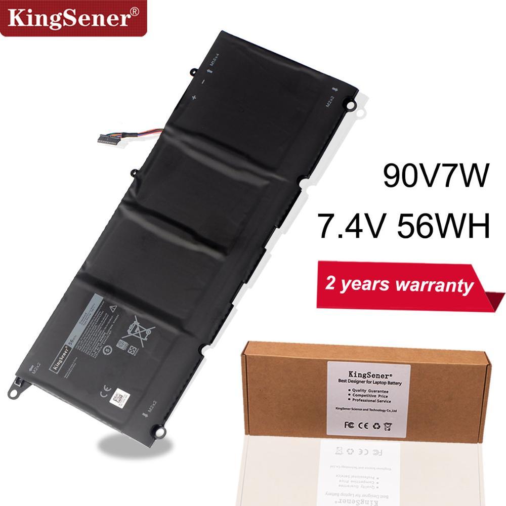 Kingsener 90V7W New Laptop Battery For Dell XPS 13 9343 9350 13D 9343 Seriese Notebook JHXPY 0N7T6 90V7W JD25G 7.4V 56WH