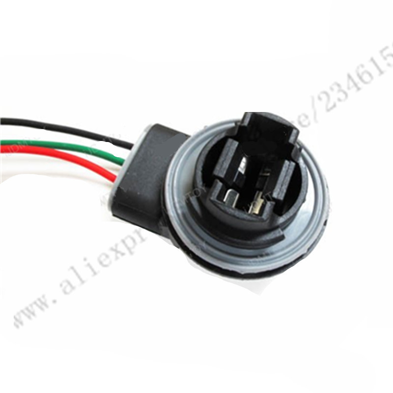 3157 4157 Bulb Socket Turn Signal Light Harness Wire Plug Connector ...