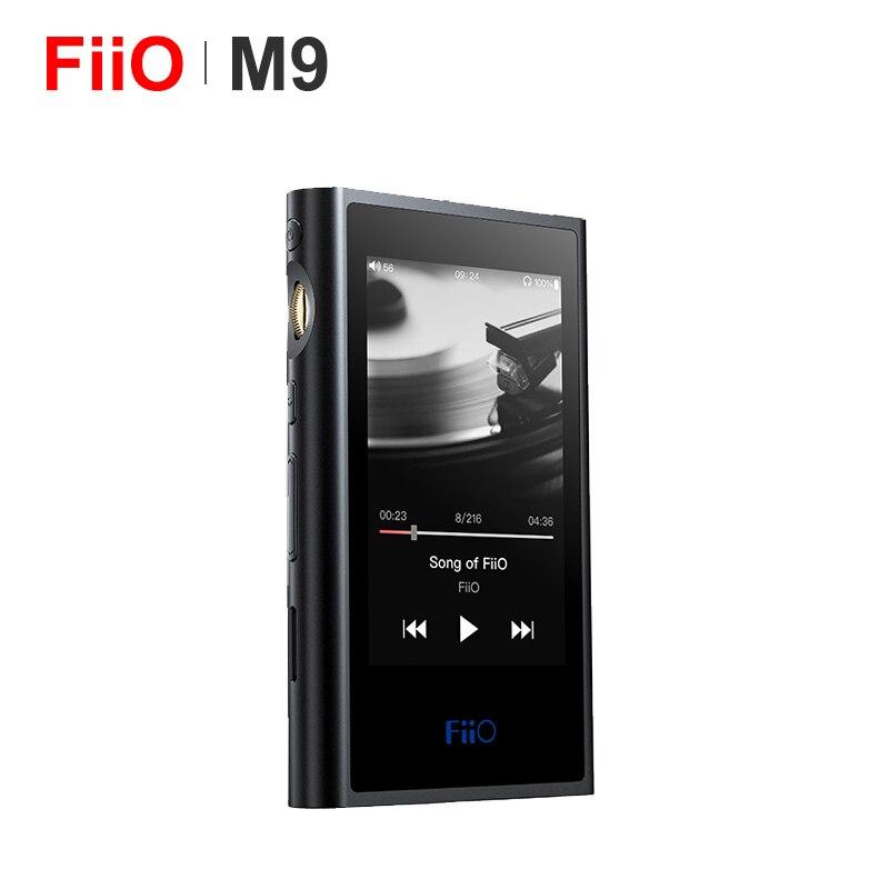 FiiO M9 HIFI AK4490EN * 2 équilibré WIFI USB DAC DSD Portable haute résolution Audio lecteur MP3 Bluetooth LDAC APTX FLAC