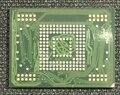 Para Nota 10.1 N8000 eMMC 16 GB com firmware Programada KLMAG4EFJA-A002 IC chip de memória flash NAND de 16 GB