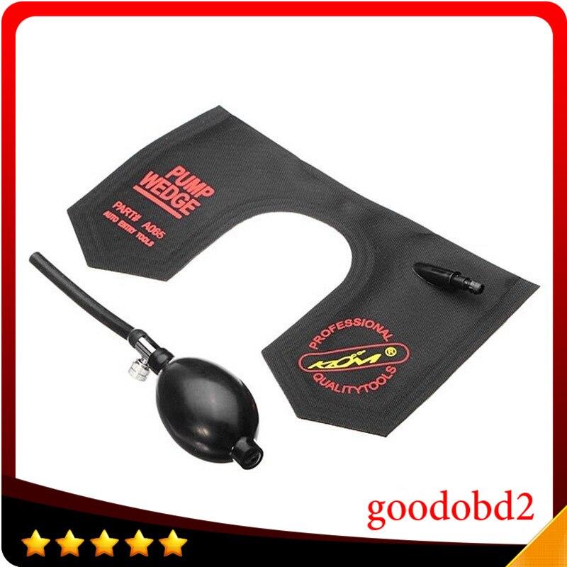 Pdr Dent Tool Universal U Shape Air Wedge Pump Airbag Locksmith Tool Lock Pick Opener Tool Black Color For Car Door Windows Door