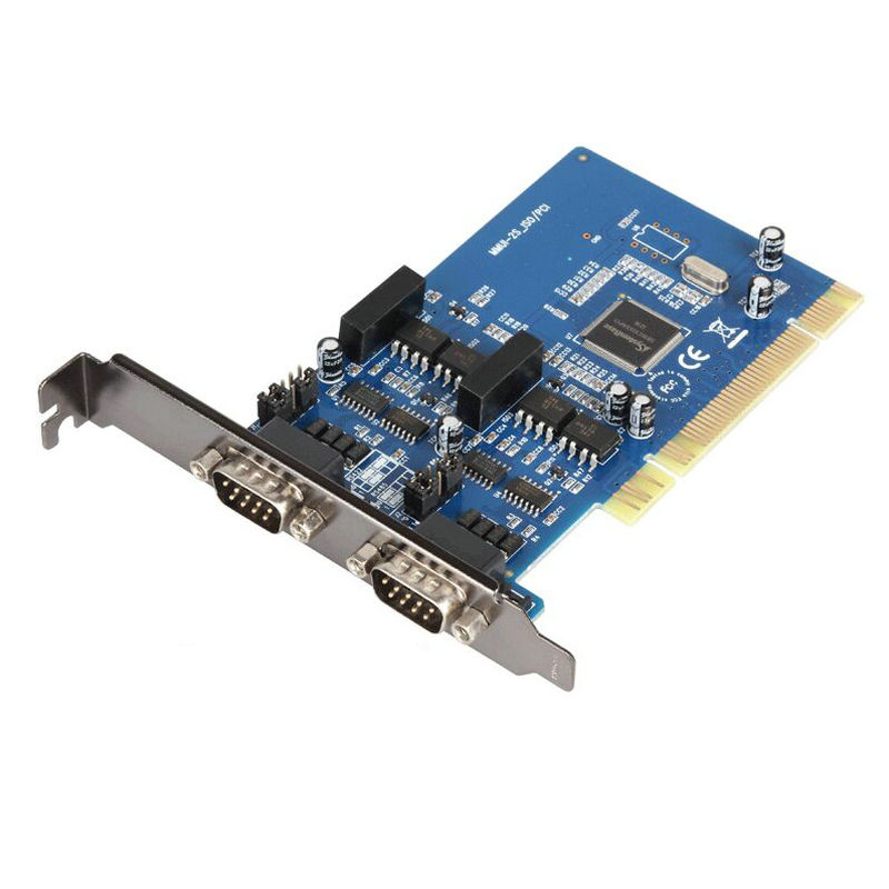 High Quality 2 Ports optoelectronic Isolation High Speed Serial RS422 RS485 PCI Card SYSBASE1053 Chipset Best Price