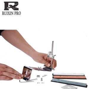 Image 3 - iron steel knife sharpener Kitchen Knife Sharpener Sharpening Fix Fixed Angle with stones