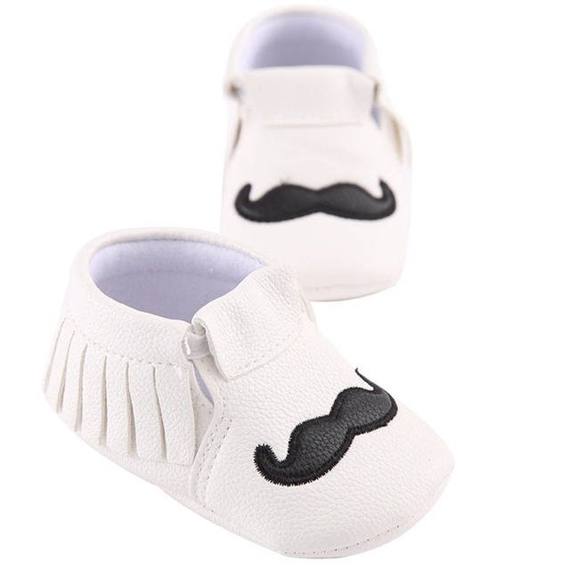 ebd0fbda28704 Detail Feedback Questions about White/Black Cute PU Leather Baby ...