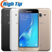 J320 desbloqueado samsung galaxy j3 (2016) 8gb lte telefones celulares android original gsm 4g duplo SM-J320 smartphone 8mp quad core