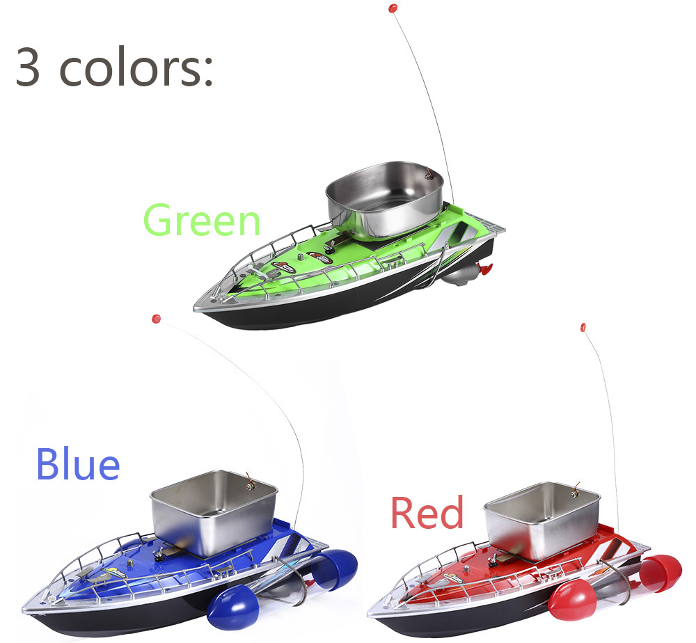1693685 Mini RC Wireless Fishing Lure Bait Boat 200M Remote Control for Finding Fish 1.5kg mini fast electric fishing bait boat 300m remote control 500g lure fish finder feeder boat usb rechargeable 8hours 9600mah