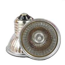 Nova uva uvb réptil tartaruga lâmpada de aquecimento espectro completo sunlamps basking pet baixa intensidade 25w ~ 100w 220v e27