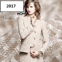Paris baguette 2017 new brands of clothing and fabric of linen cotton woolen cloth and soft cloth +
