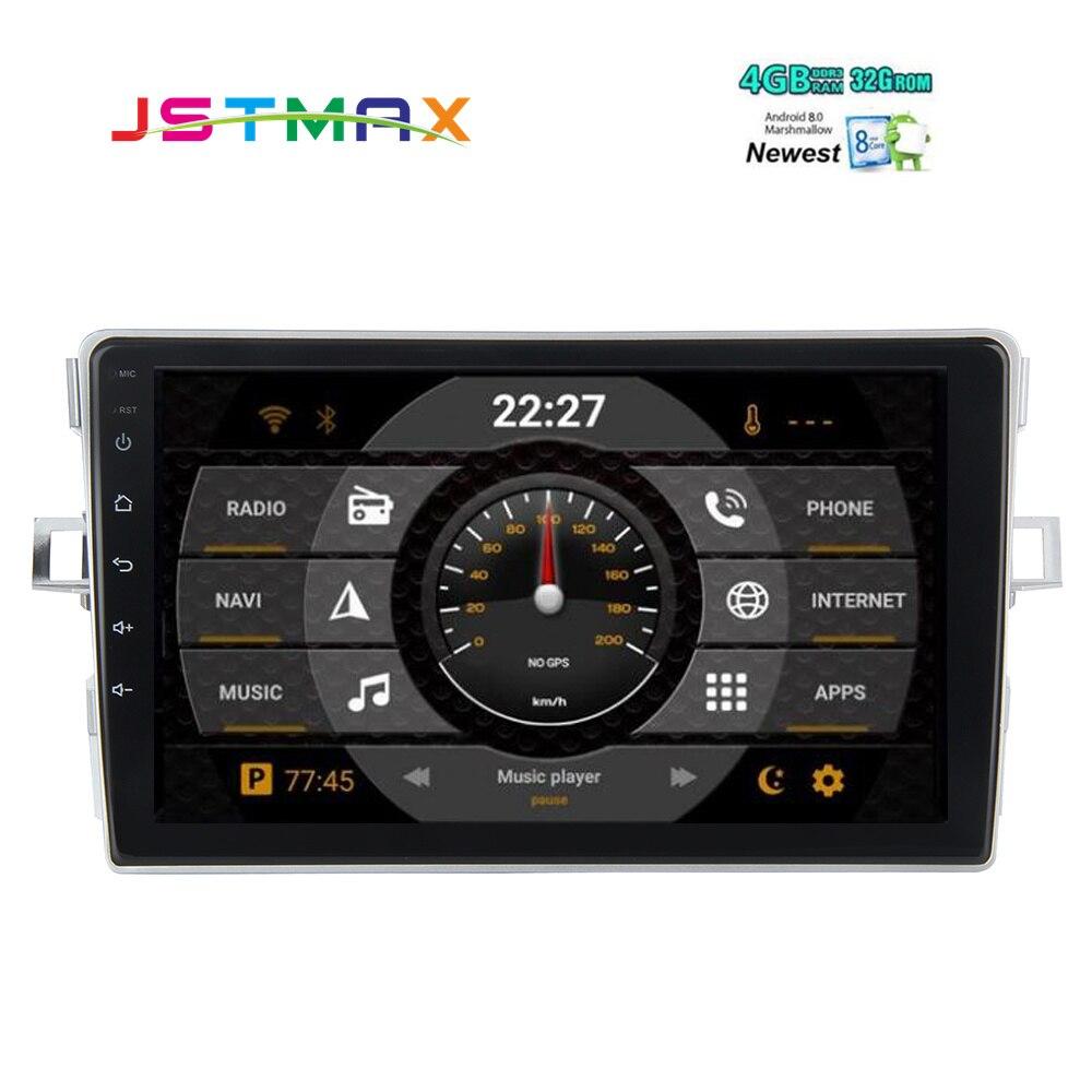 Android 81 Car Head Unit For Toyota Verso Autoradio Gps 1 Din 2015 Interior 8 Ips 80 Multimedia Ez Radio 2007 2008 2009 2010