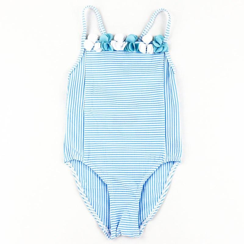 neonato bambini di un pezzo del costume da bagno a righe monokini ragazza swimwear maillot de