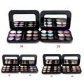Nuevo Profesional 12 Color Nude Sombra de Ojos Paleta de Maquillaje Naked Smoky Shimmer Eye Shadow Palette Set Pigmento de Sombra de Ojos Con El Cepillo