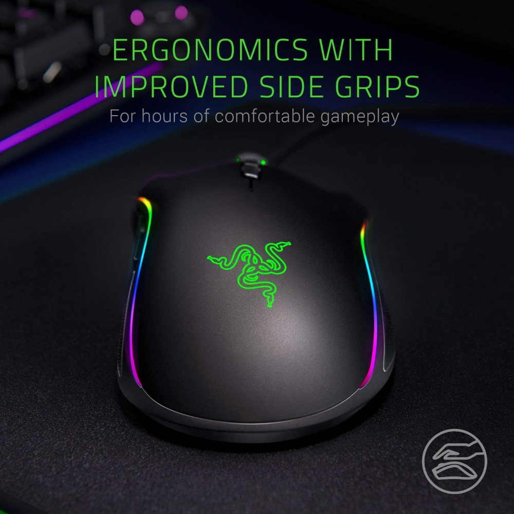 Image 4 - NEW Razer Mamba Elite Wired Gaming Mouse 16000 DPI 5G Optical Sensor Chroma Light Ergonomic Gaming Mouse For PC Gamer Laptop-in Mice from Computer & Office
