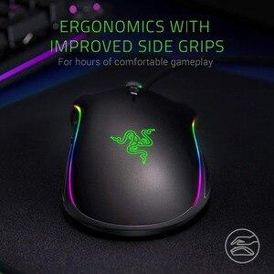 Image 4 - חדש Razer Mamba עלית Wired Gaming Mouse 16000 DPI 5G אופטי חיישן Chroma אור ארגונומי עכבר משחקים למחשב גיימר מחשב נייד