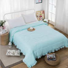 Washed cotton material suitable for spring and autumn quilts Soft and comfortable exquisite workmanship good quality
