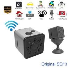 Mini Cam WIFI Camera SQ13 FULL HD 1080P Night Vision Waterproof shell CMOS Sensor Recorder Micro Hidden Surveillance Camcorder