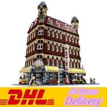 LELE 30012 2133Pcs Cafe Corner Model action figures Building Blocks Bricks toys for children LEPIN 15002  10182