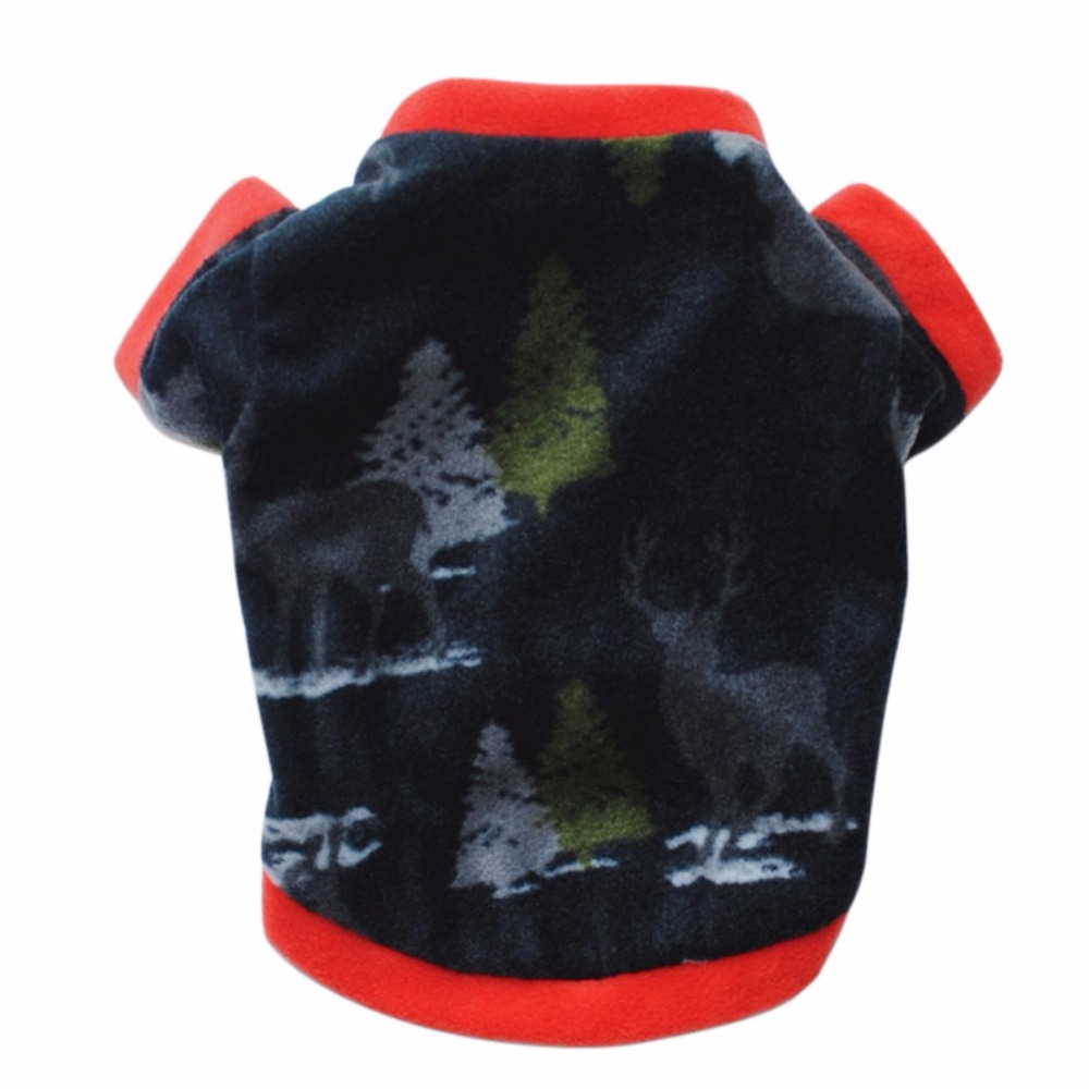 Winter Pet Coat Christmas Dog Warm Sweater Cotton Costume Small Dog Cat Pet Clothing Puppy Jacket Apparel Warm Pullover