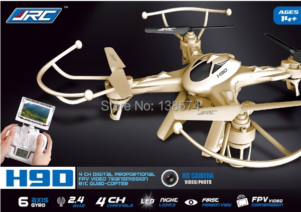 Original JJRC H9D 2.4G 4CH 6 axis Gyroscope FPV digital transmission Quadcopter with 2MP Camera VS Hubsan x4 H107D