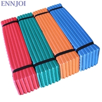 ENNJOI 190x57cm Single Camping Mat Outdoor Foldable Portable Moisture Proof Ultralight Foam Egg Slot Picnic Blanket