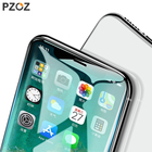 PZOZ 0.23mm 4D Tempered glass Screen Protector For iPhone X Full cover screen protector coverage phone protective Glass film 9H