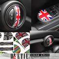 ETIE Заводские Автомобилей Укладка MINI Интерьер Дверные Ручки Виниловые Наклейки Автомобильные Аксессуары Mini Cooper Наклейки Новый Дизайн