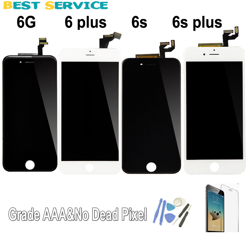 f413cc859 Grade AAA For iPhone 6 6s 6 plus 7 LCD Screen Display Touch Screen  Digitizer Assembly