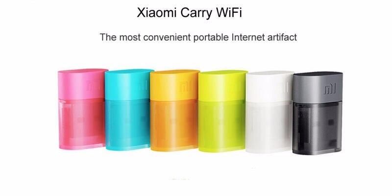 6 couleur Lot de 6 pièces Xiao mi mi Smart Domotique Portable mi ni USB routeur sans fil wifi 2.4 GHz 150 Mbps USB adaptateur internet