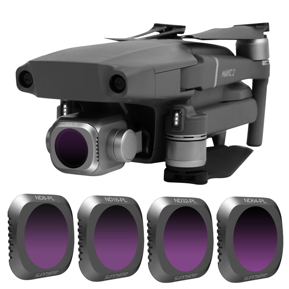 Drone Filter ND8PL ND16PL ND32PL ND64PL Neutral Density Camera Filters For DJI Mavic 2 Pro Professional