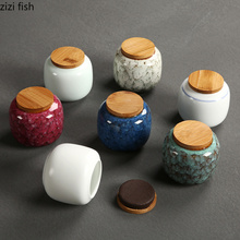 Керамика чайник Коробка Для Хранения запечатанные банки портативный путешествия чай интимные аксессуары Принадлежности для кухонного бара коробка для хранения Керамика jar
