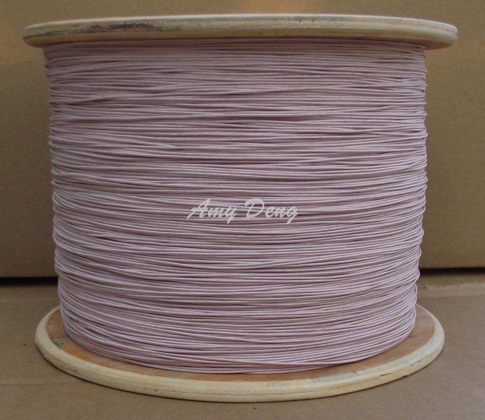 50 meters/lot  0.1x120 new litz wire strands