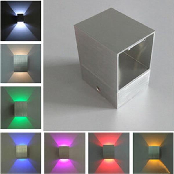 Led strip gebruikt lamparas ac90 265v wandlampen slaapkamer ...