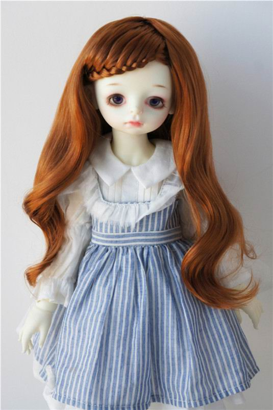 JD204 9-10inch Blyth doll wig synthetic mohair wig 23-25CM Lady curly BB wigs doll accessories SD doll accessories