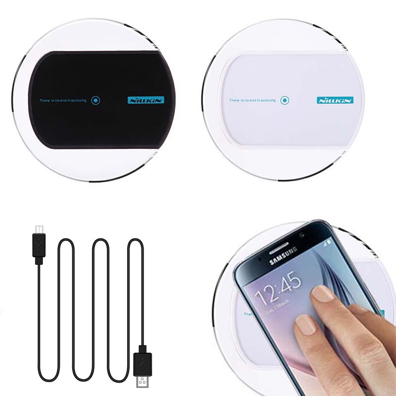 Qi Wireless Charger Charging Pad 100 Original Magic Disk For SAMSUNG GALAXY S6 S6 Edge S6