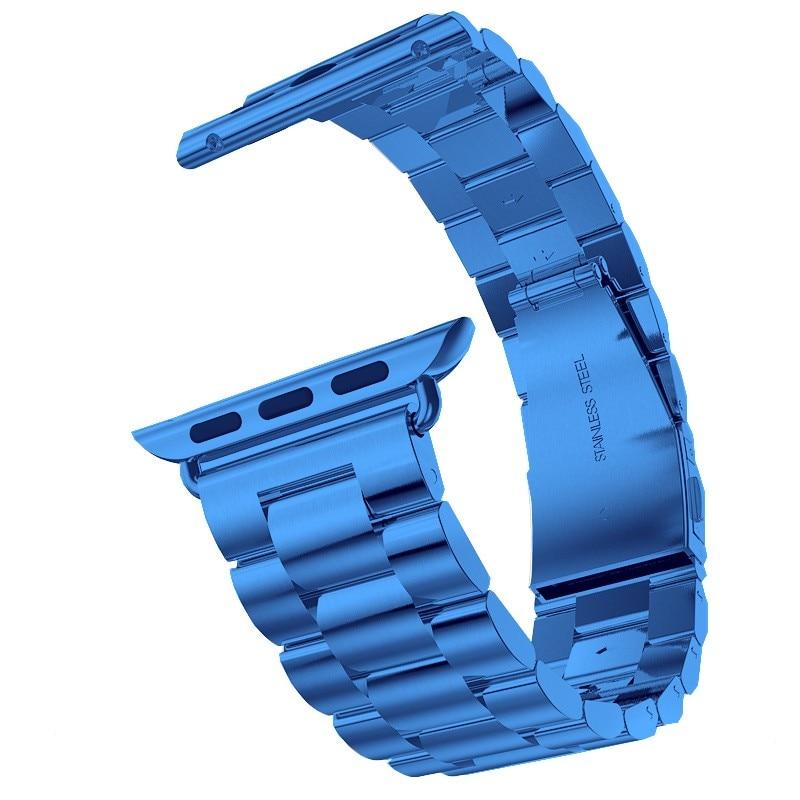 Curea din oțel inoxidabil pentru ceas Apple 42mm 38mm 4 3 2 1 - Accesorii ceasuri - Fotografie 2