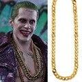 Массивное золотое ожерелье Joker, цепочка, аксессуары для косплея, ювелирные изделия