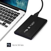 High Quality Brand New External HDD SSD 2.5inch USB 3.0 Hard Disk Drive Enclosure Case Caddy SATA