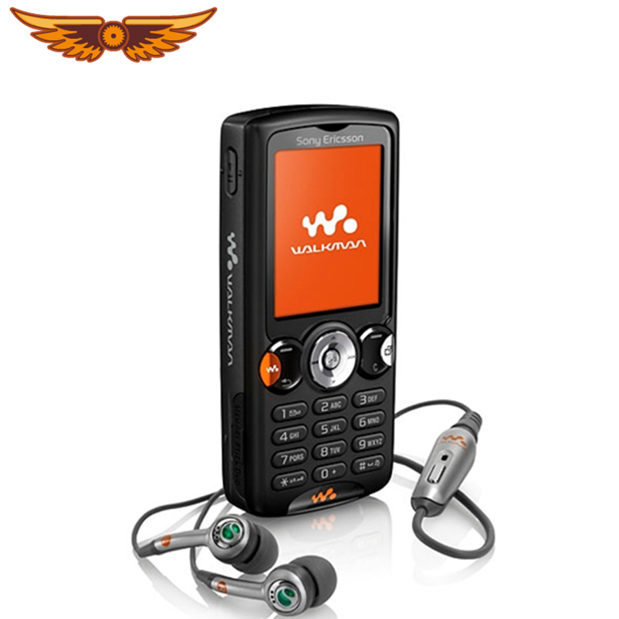 W810 Original Sony Ericsson W810i GSM 2MP Camera 900 mAh FM Radio Bluetooth Unlocked Refurbished Bar Cellphone(China)