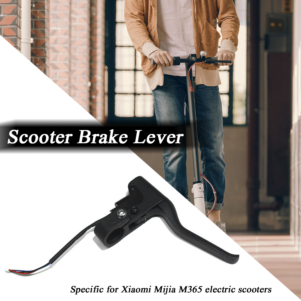 Skateboard Brake Handle Brake Lever for Xiaomi Mjia M365 Electric Scooter Cycling Brake Lever scooter in Bicycle Brake from Sports Entertainment