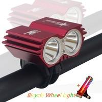 5000 lumen XM-L U2 LED Radfahren Fahrrad Licht Kopf vorder Lichter blitzlicht + BIke Rad Licht