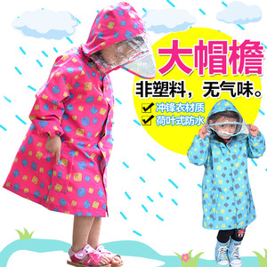 Image 5 - FreeSmily style Raincoat For Children Kids students impermeable waterproof boys girls child Rain Coat Ponchos Jackets