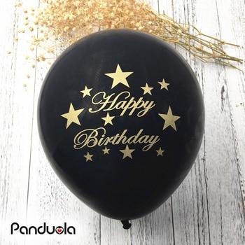 10pcs Happy Birthday balloons air balloons birthday party decorations kids party ballon wedding decoration baby shower globos