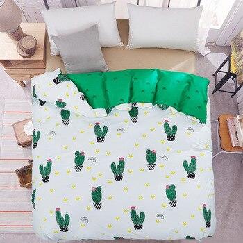 Один пододеяльник зеленый одеяла покрыть 150*200 см RU Семьи постельные принадлежности красное сердце домашний текстиль постельное белье Геом...