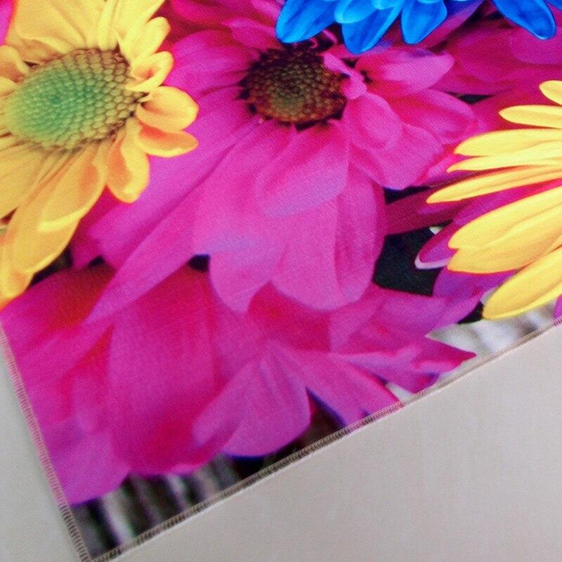 3D Teppich Bunten Sonnenblume Teppiche Für Zuhause Wohnzimmer ...